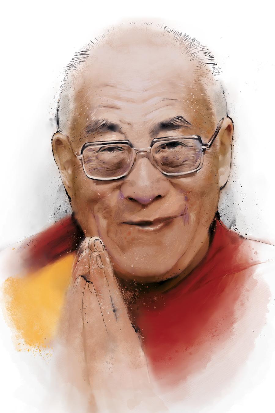 Dalai Lama Egon Von Euwensz German Graffiti Artist Egon Von Euwensz